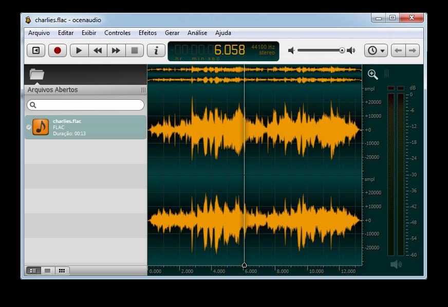 OcenAudio - Editor de audio Sc6058.win.pt